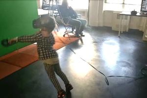 Brain Break: Watch This Kid's Virtual Reality Wipeout