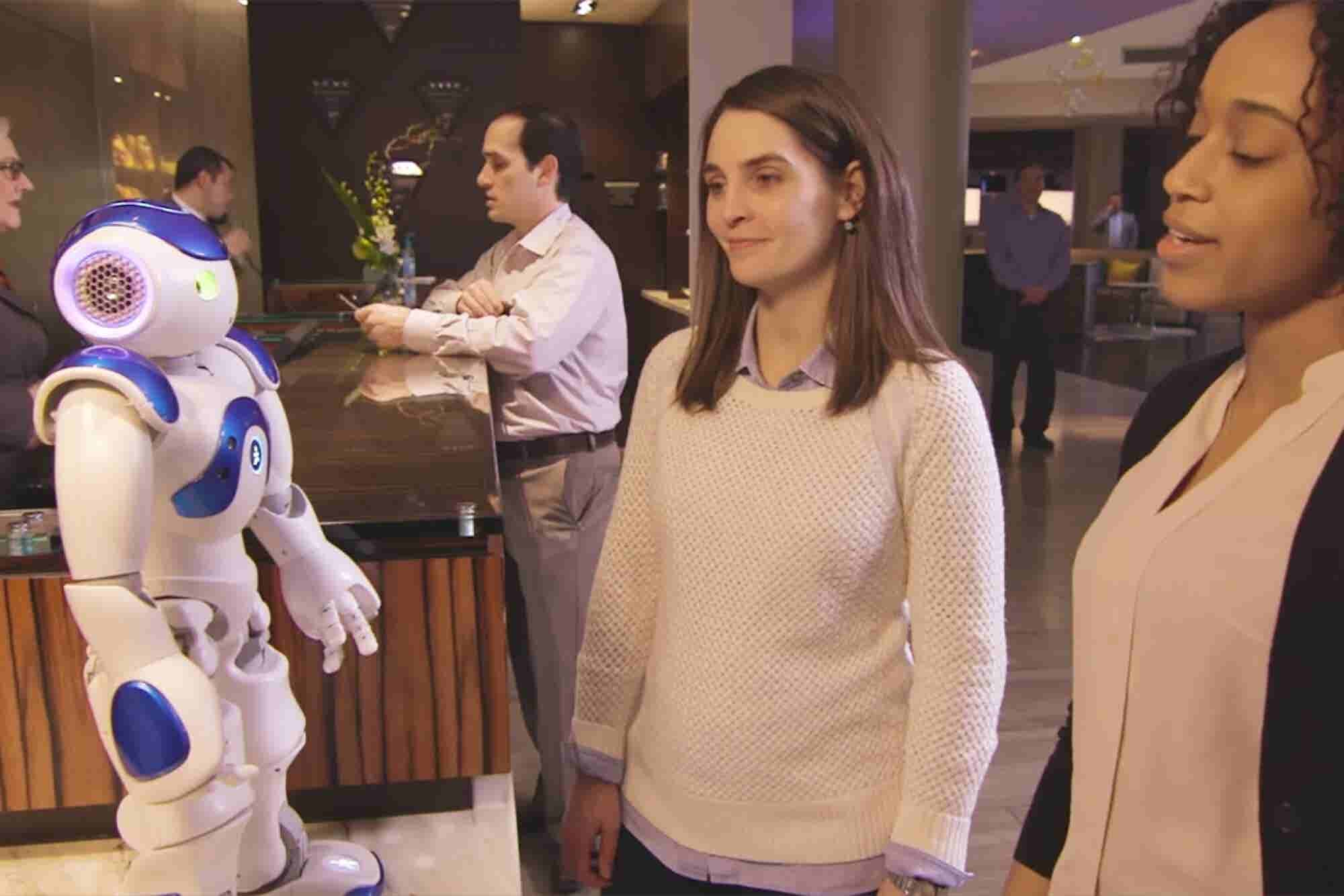 Meet Connie, the Robot Concierge at a Virginia Hilton