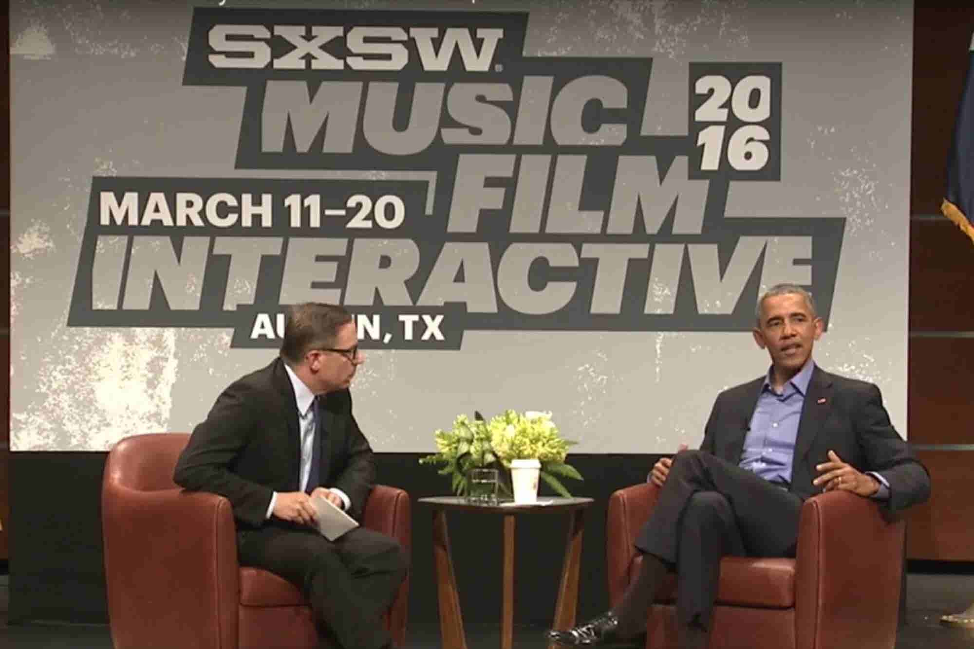 At SXSW: Barack Obama's Call to Action for the Tech Industry