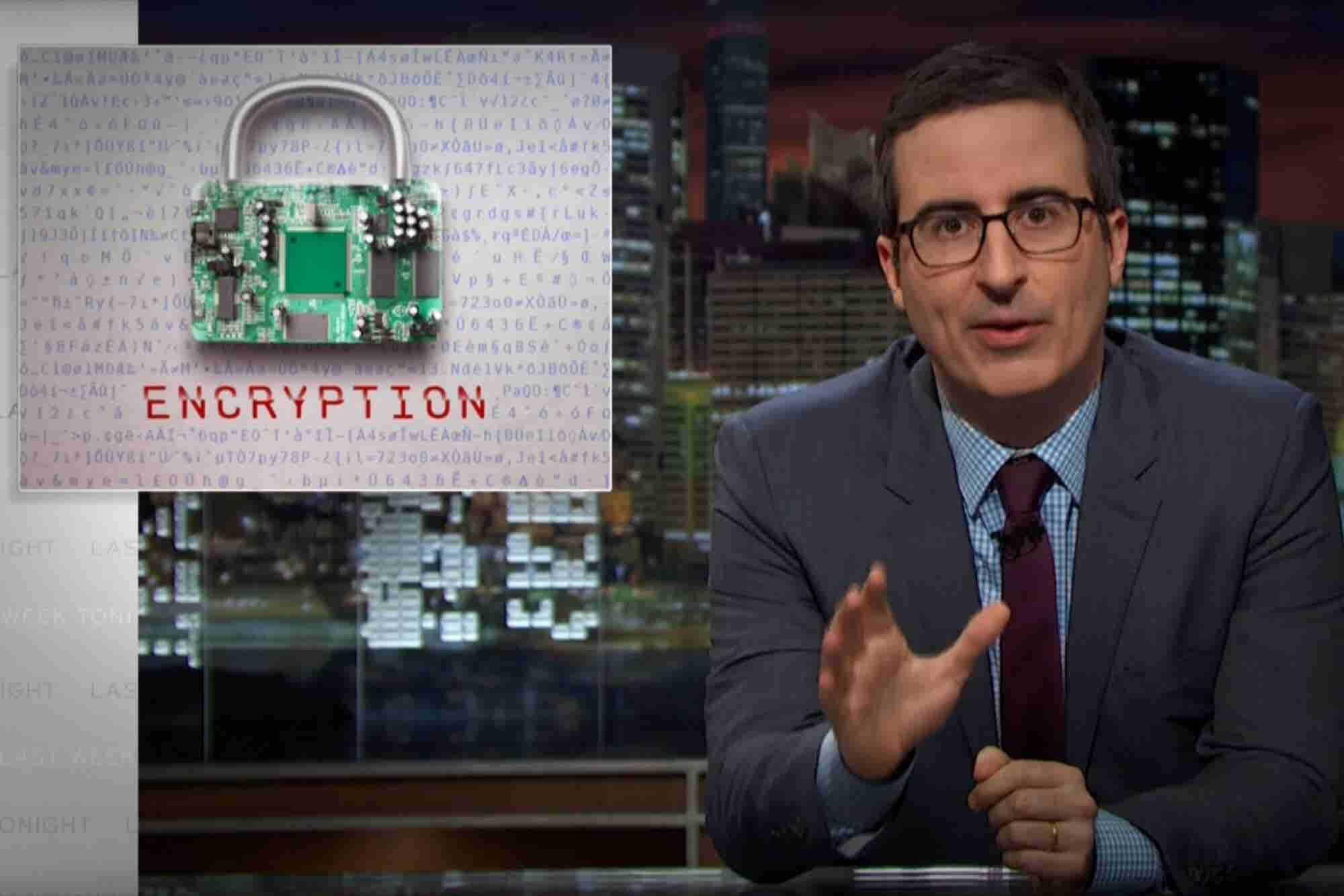 Watch John Oliver Hilariously Break Down the Apple Encryption Case