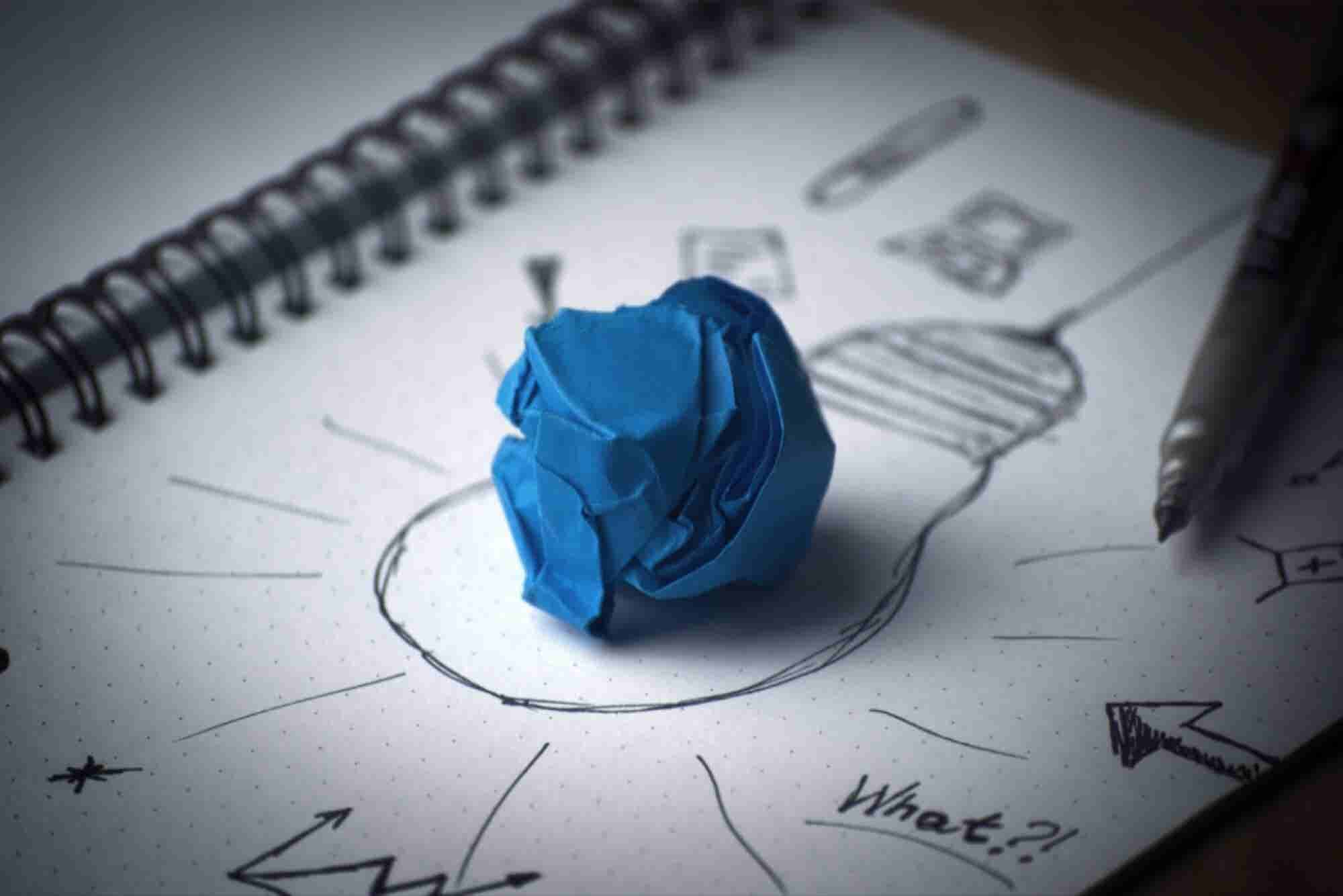 Great Ideas Can Come From Inspiration -- or Brute Force