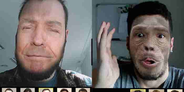 Face Swaps & Real Time Video Filters Become Viral