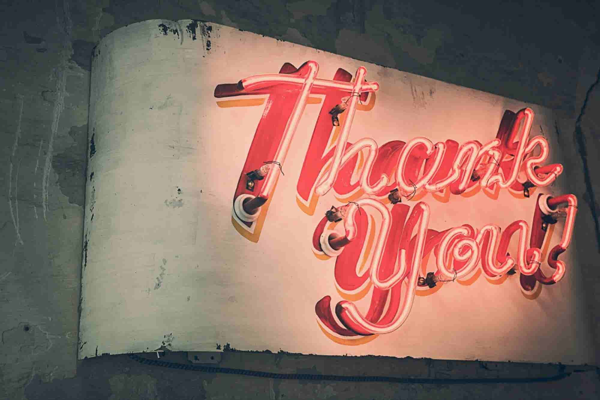 7 Times a 'Thank You' Is the Best Response