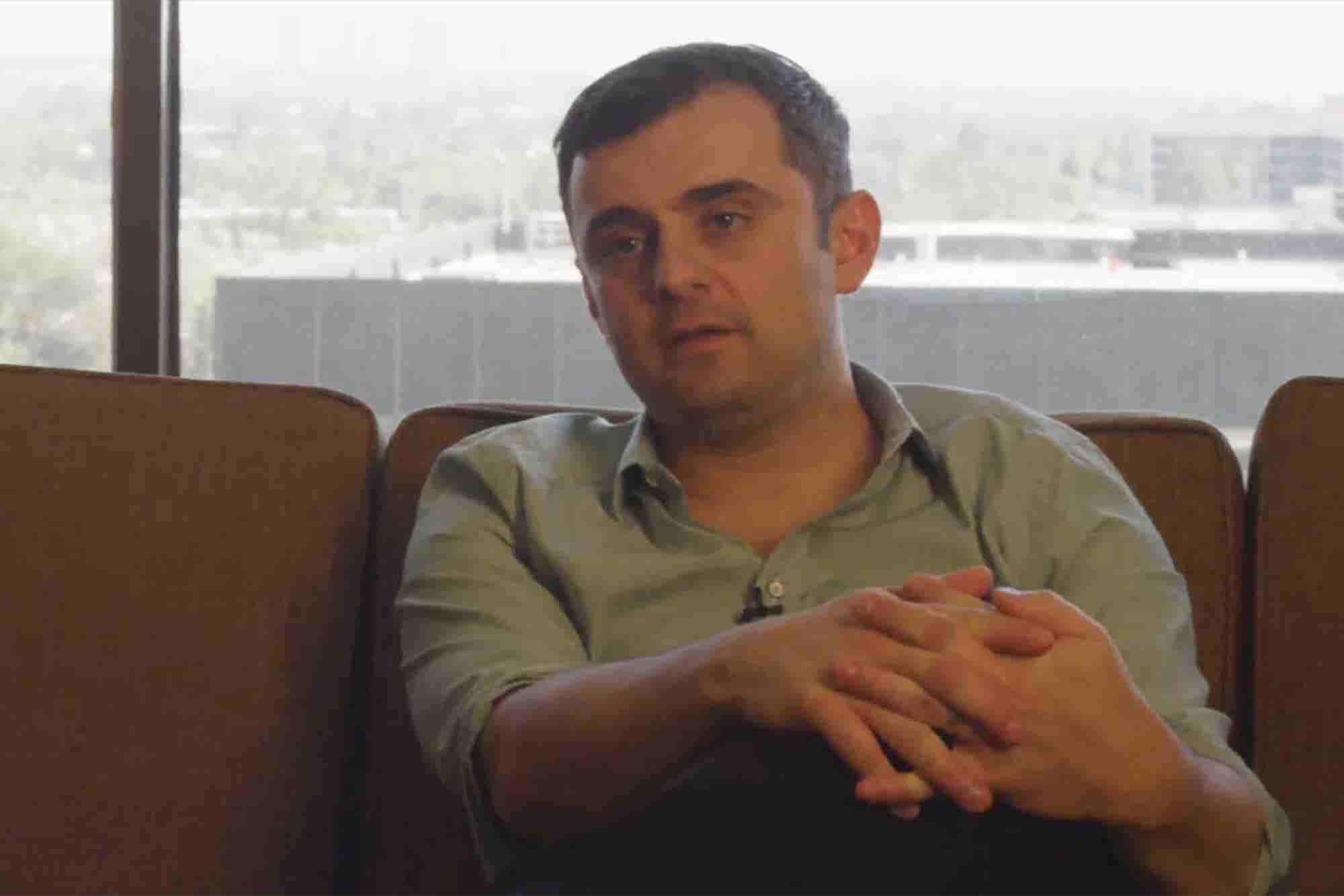Gary Vaynerchuk Says True Entrepreneurs Enjoy the Process More Than the Success