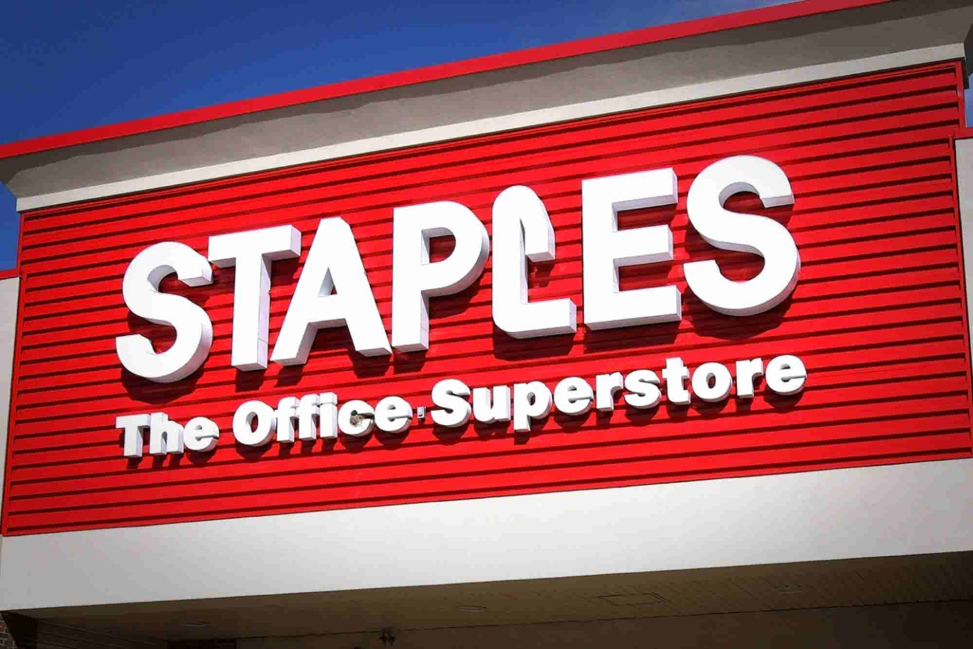 Staples and Office Depot: U.S. Government 'Simply Wrong' for Trying to...