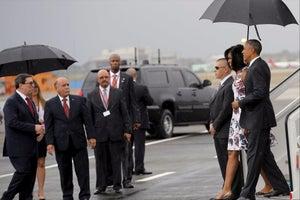 Obama Arrives in Cuba on Historic Visit