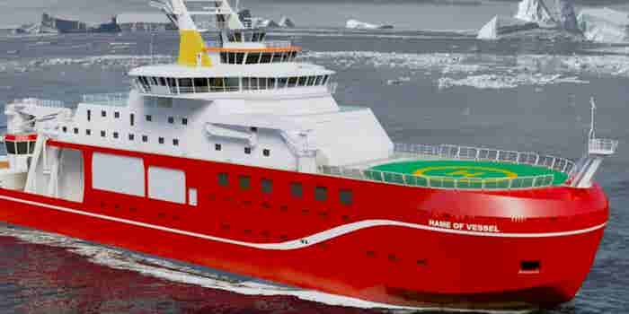 Naming Contest May Christen This $300 Million Ship 'Boaty McBoatface'