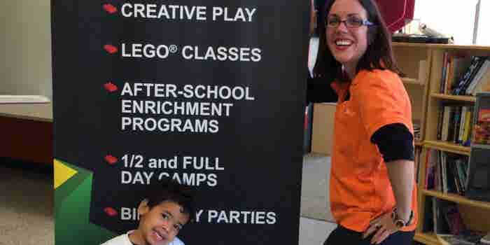 Ohio Woman Leaves a Career on Campus to Make Learning Fun With Legos at Snapology
