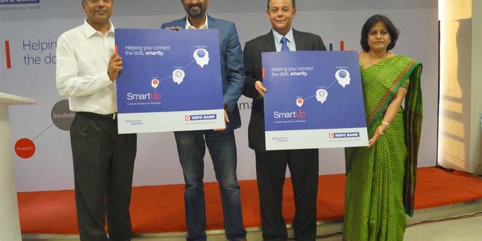 Good News For Entrepreneurs: SmartUp for Startups Launched by HDFC