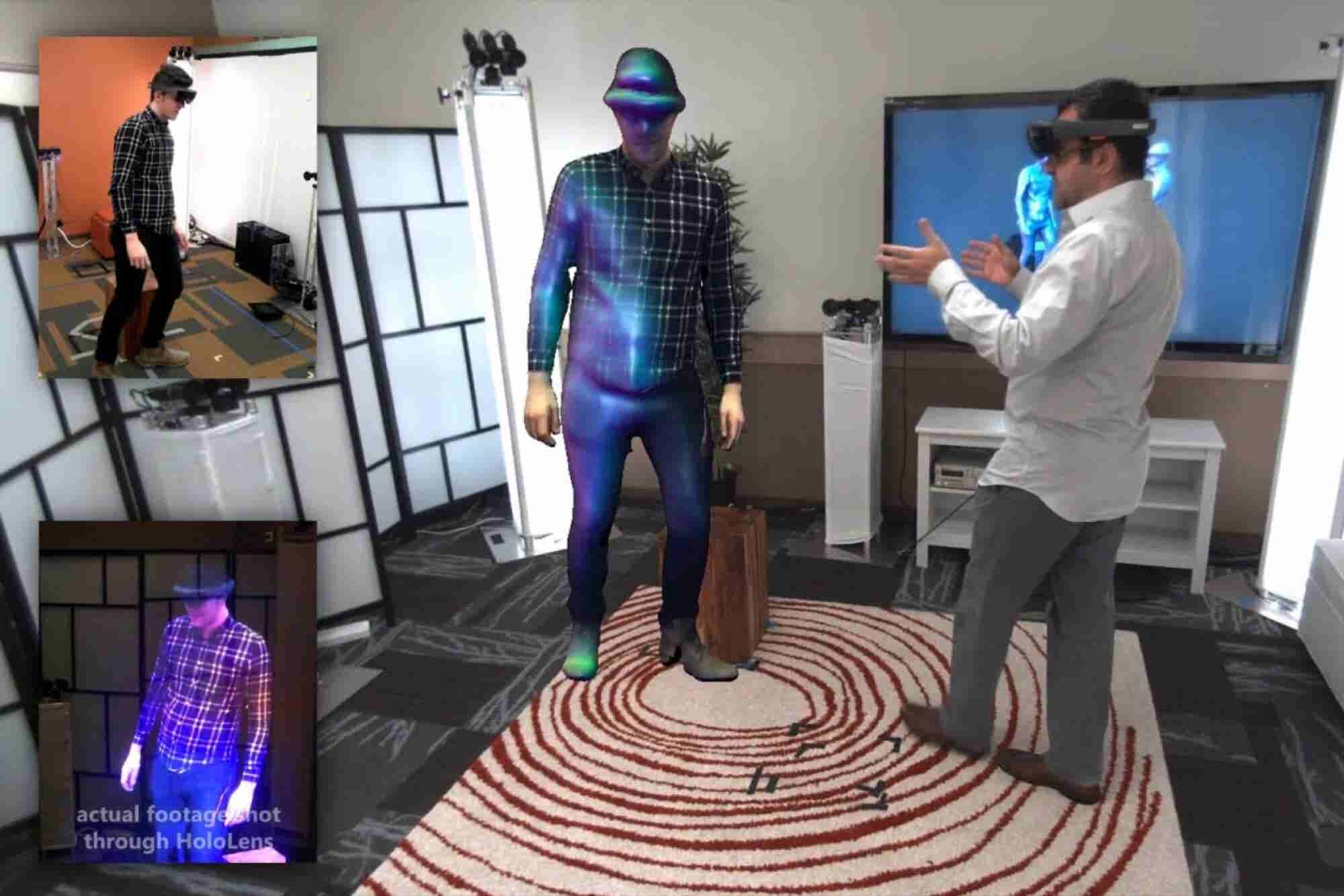 With Microsoft Tech, You Can Talk to a Hologram of a Co-worker or Friend...or Your Mom