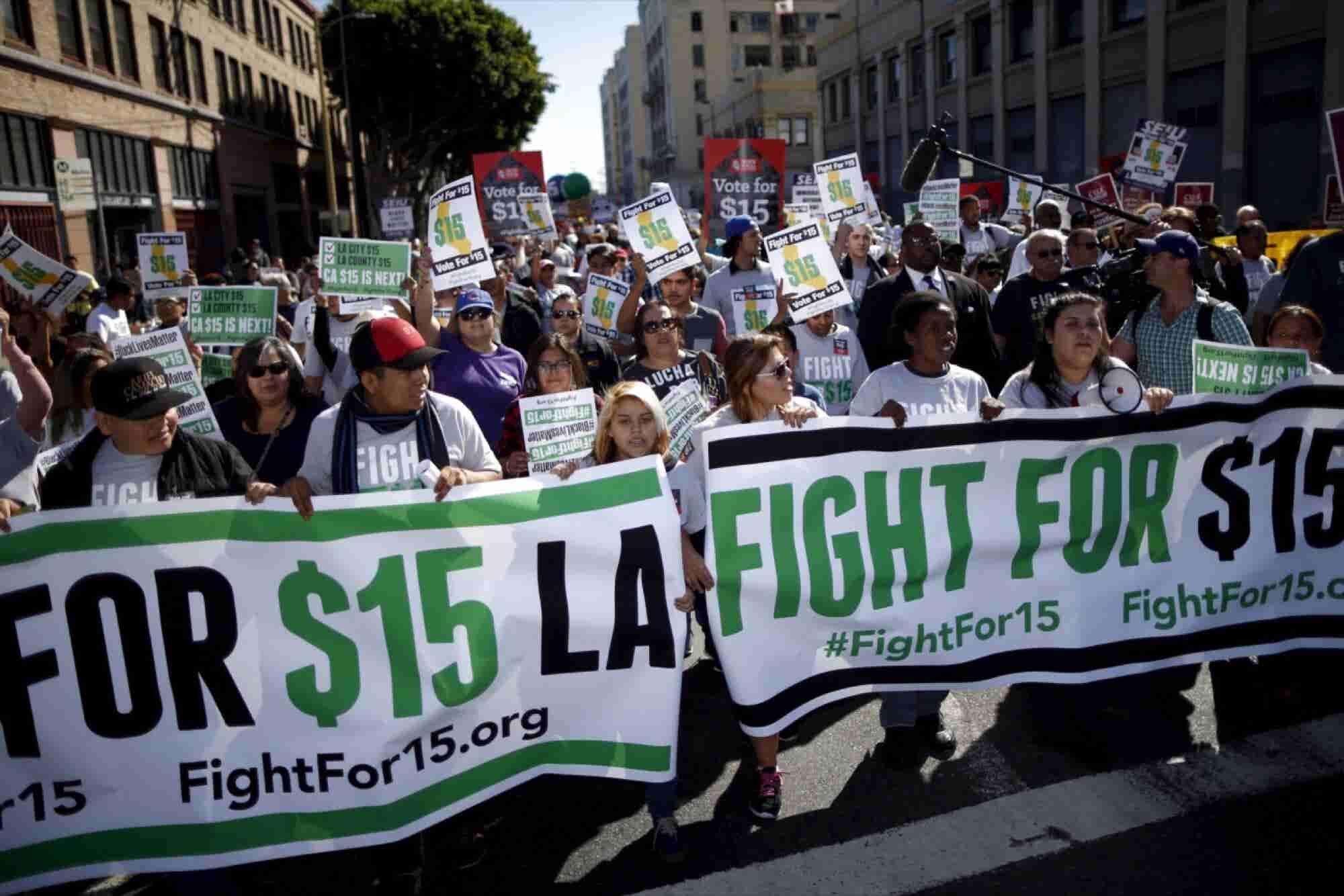 California's Minimum Wage Hike Puts Business Community at Risk