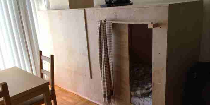 San Francisco Rent Is So Insane, This Guy Lives in a Box for $508 a Month