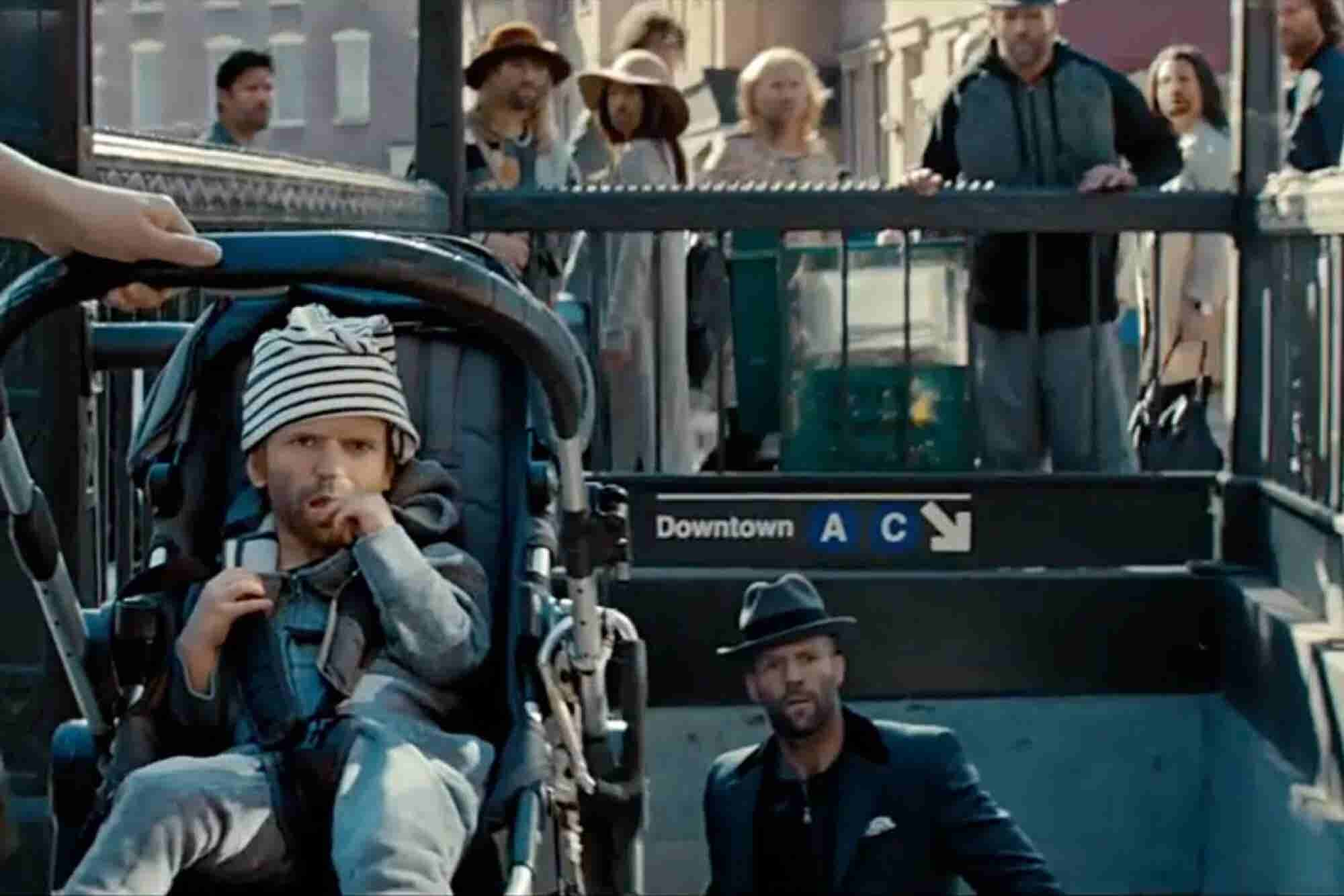 Brain Break: LG Releases Weird Ad With Jason Statham for its Weird New Phone