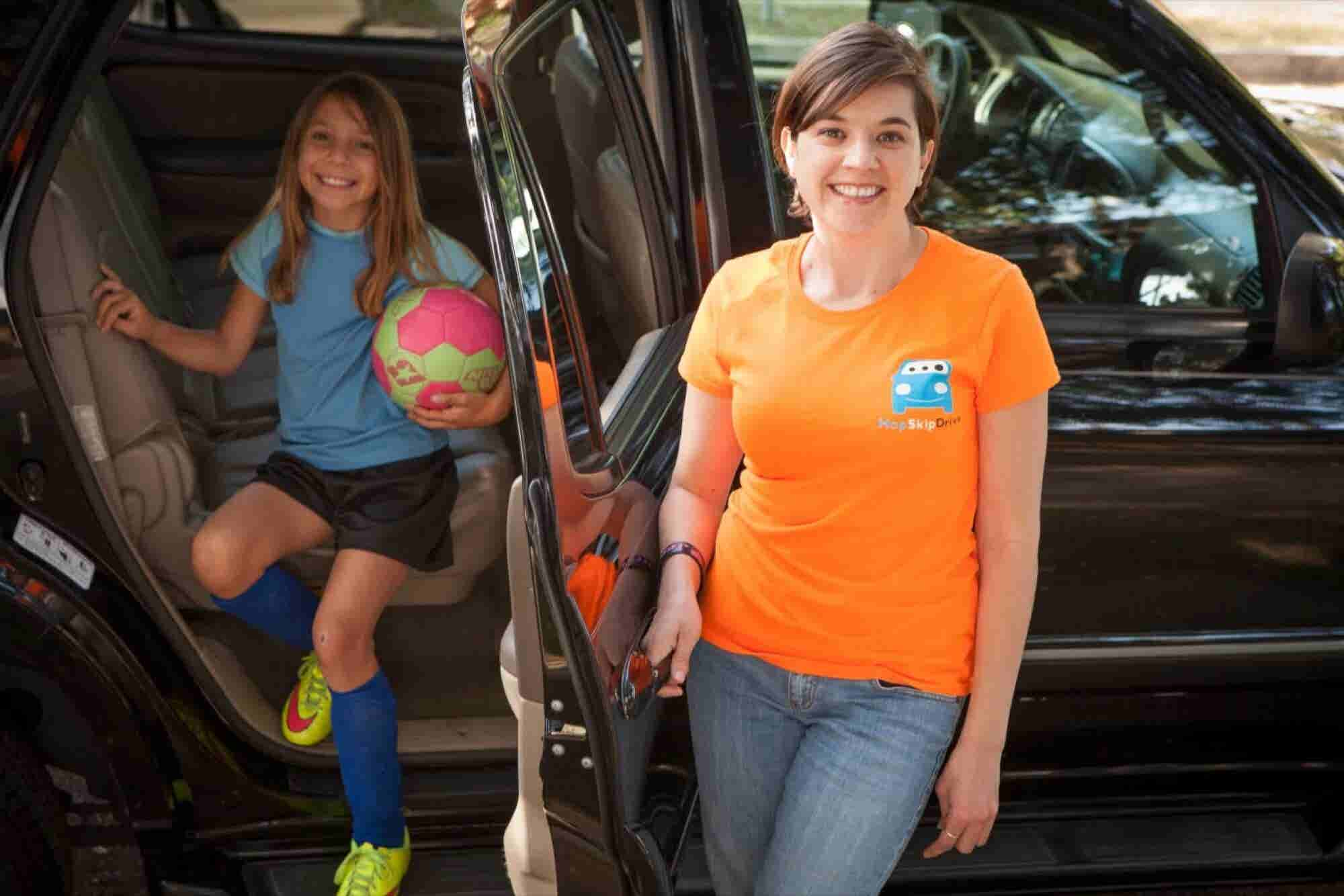 Would You Put Your Kid in a Car With a Stranger? This Startup Hopes So...