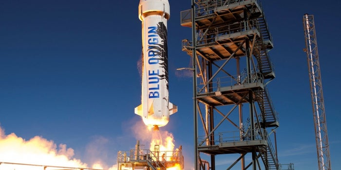 Another Successful Rocket Launch and Land for Jeff Bezos' Blue Origin