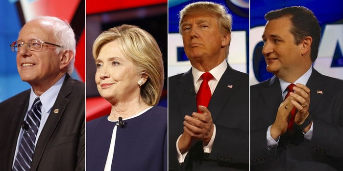 Trump, Hillary, Bernie or Cruz: Who Would You Be Craziest to Vote for?