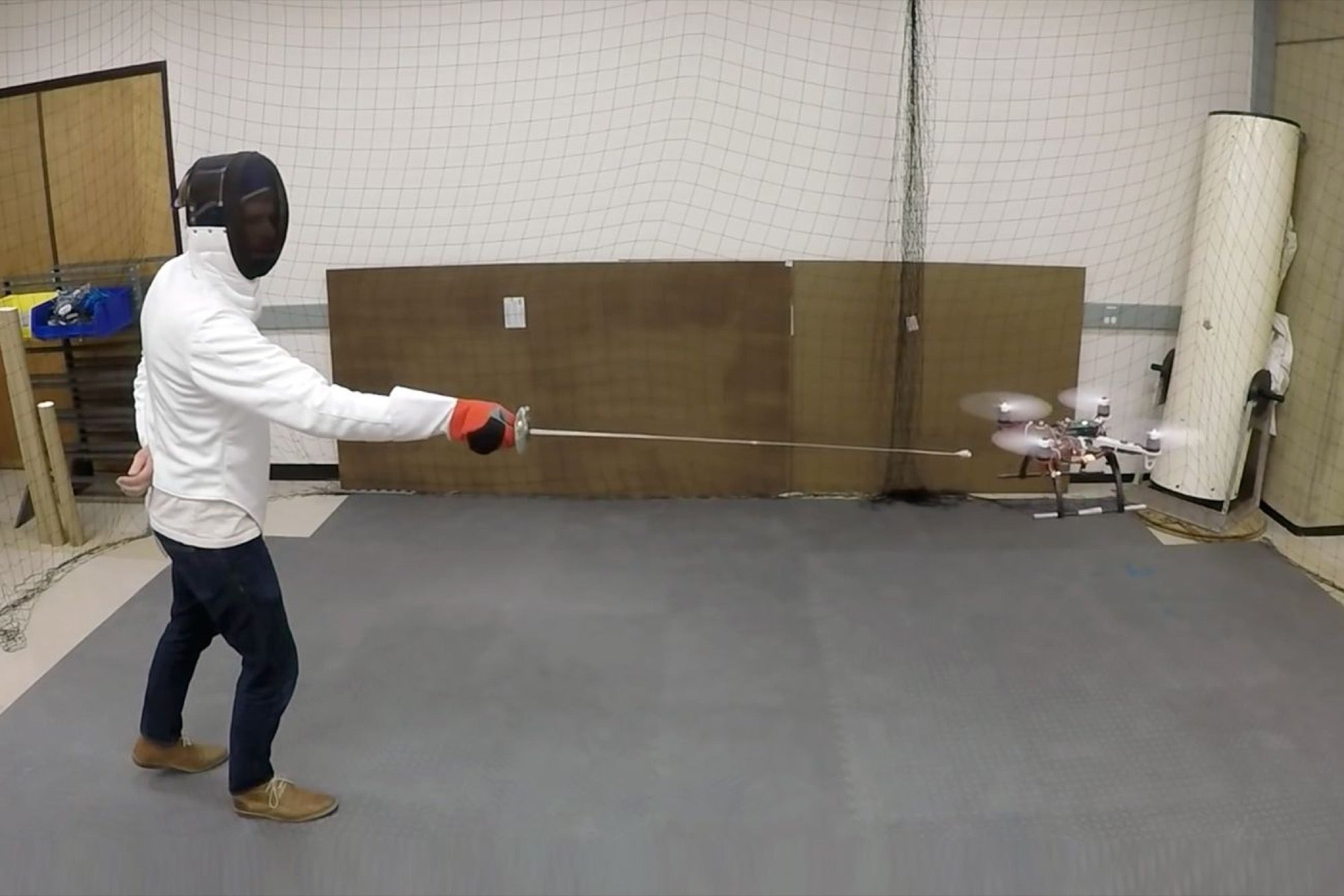 Researchers Are Teaching Drones To Sword Fight