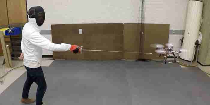 Researchers Are Teaching Drones to Sword-Fight