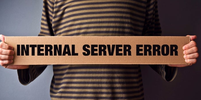 Do People Think Your Ecommerce Business Name Is '500 error'? Upgrade Your Web Hosting Now.