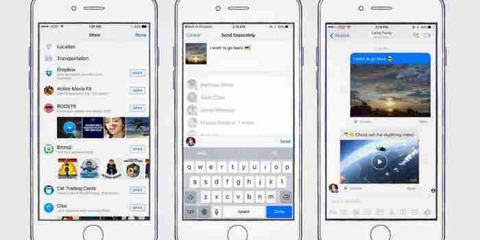 New Dropbox Feature Lets You Share Files on Facebook Messenger