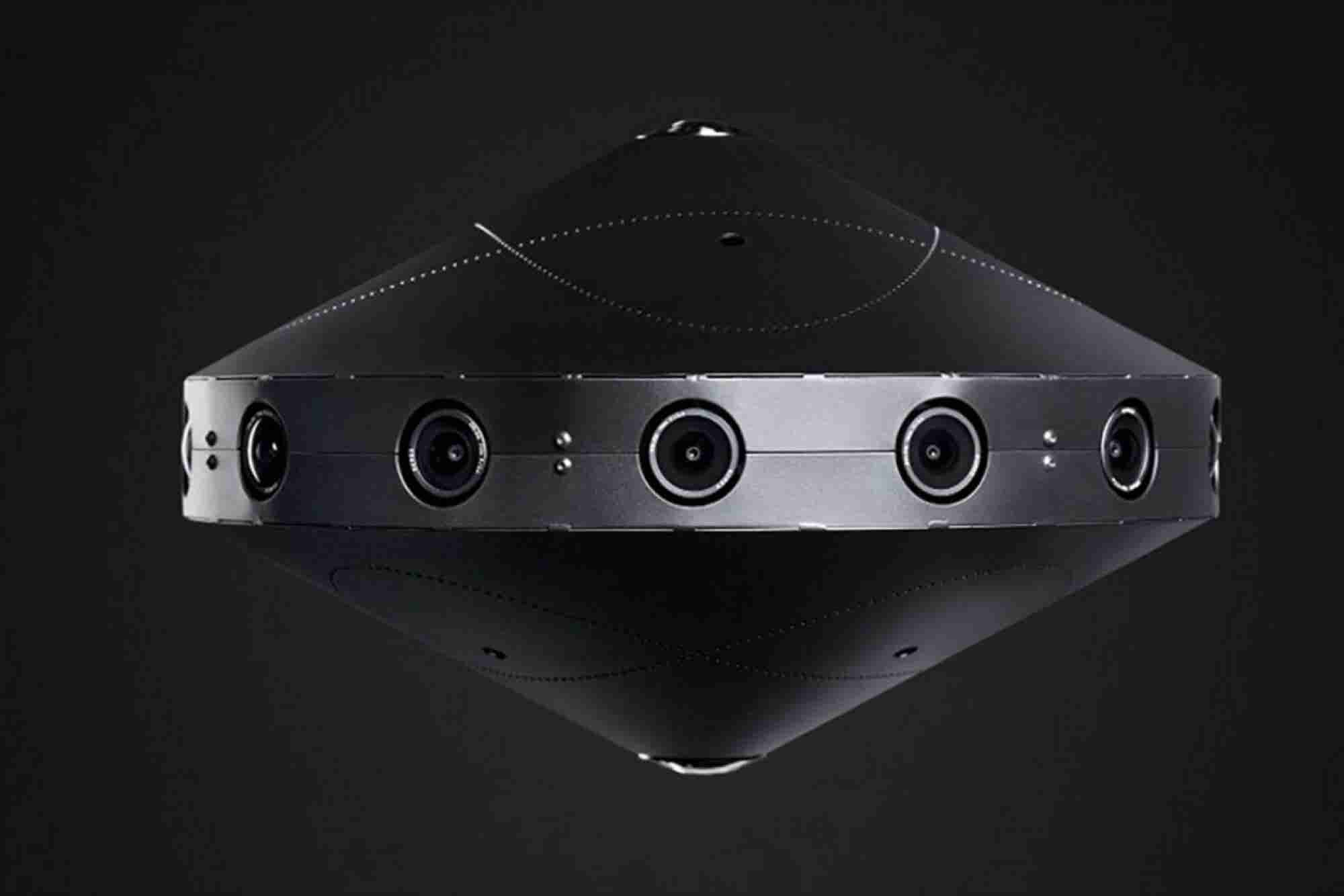Facebook Unveils 'Surround 360' Video Capture System