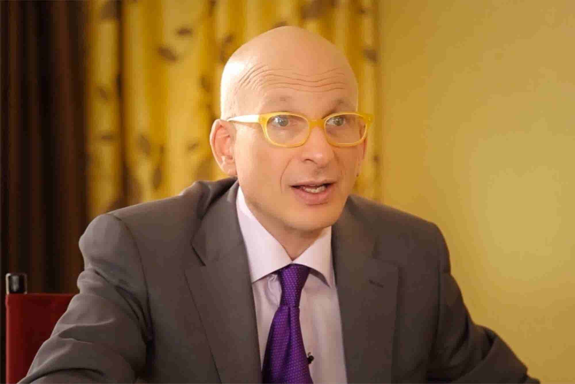Seth Godin Explains How Taking a Risk Is Actually the Safest Thing to Do These Days