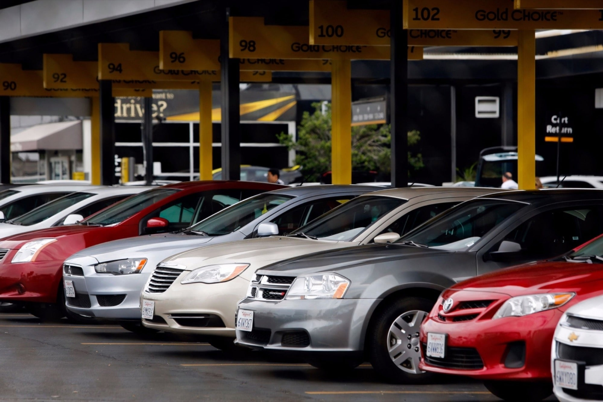 Uber And Lyft Overtake Traditional Car Rentals For