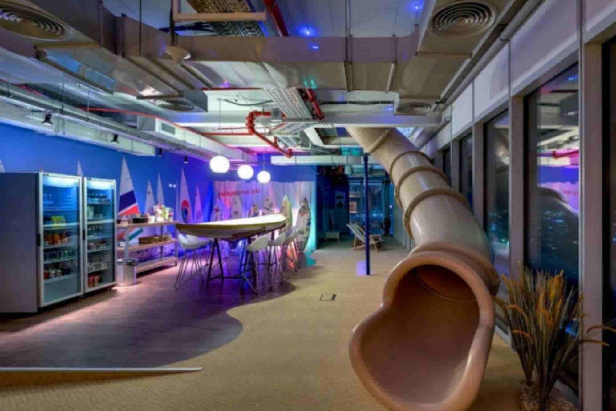 6 oficinas innovadoras (y divertidas) que querrás tener