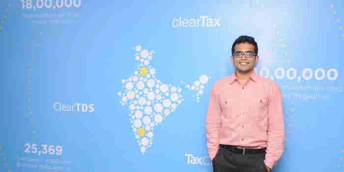 How ClearTax's Archit Gupta Found Mentors In Y Combinator And Paytm Founder
