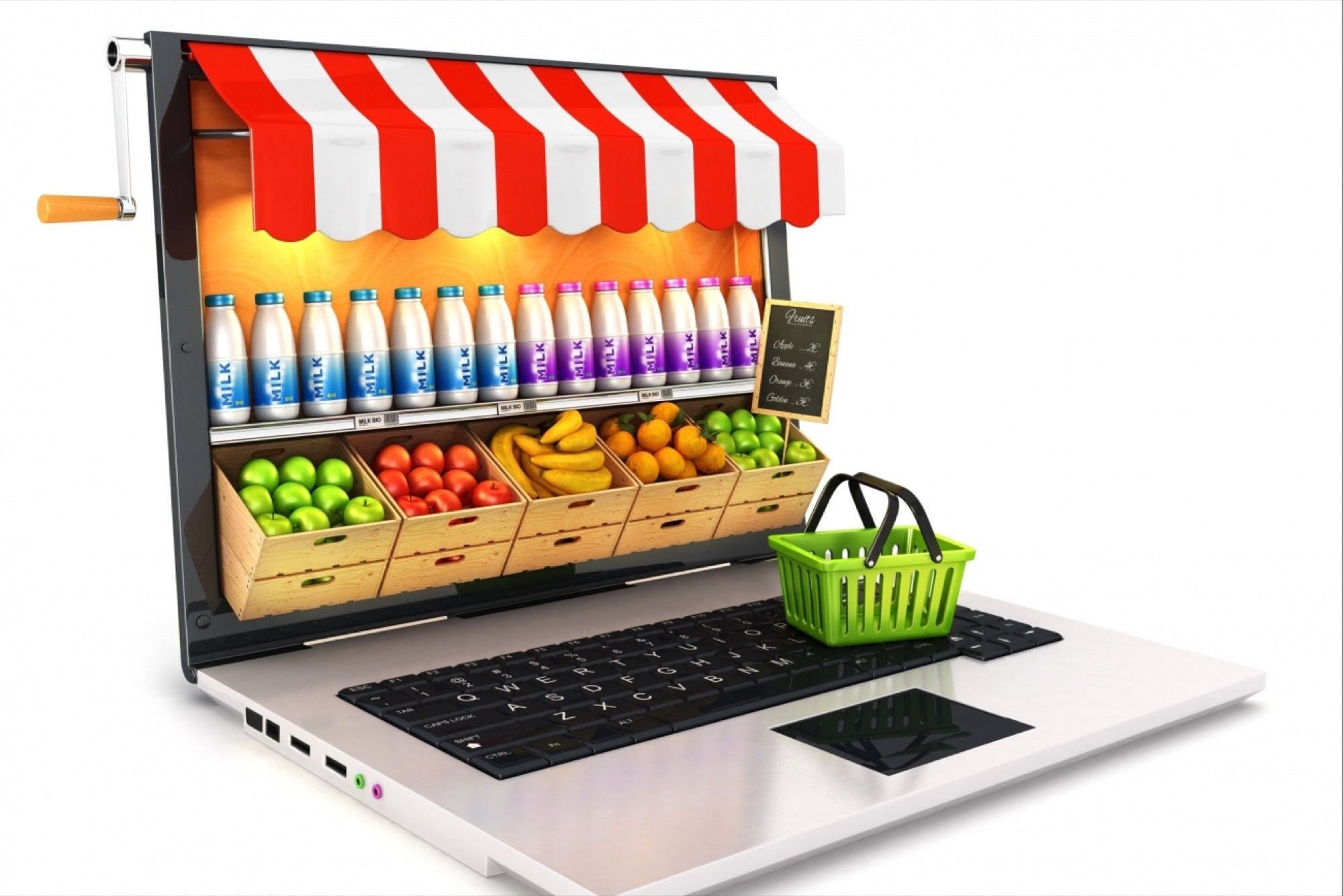Online Grocery Store – Why the Business Idea Is Catching the