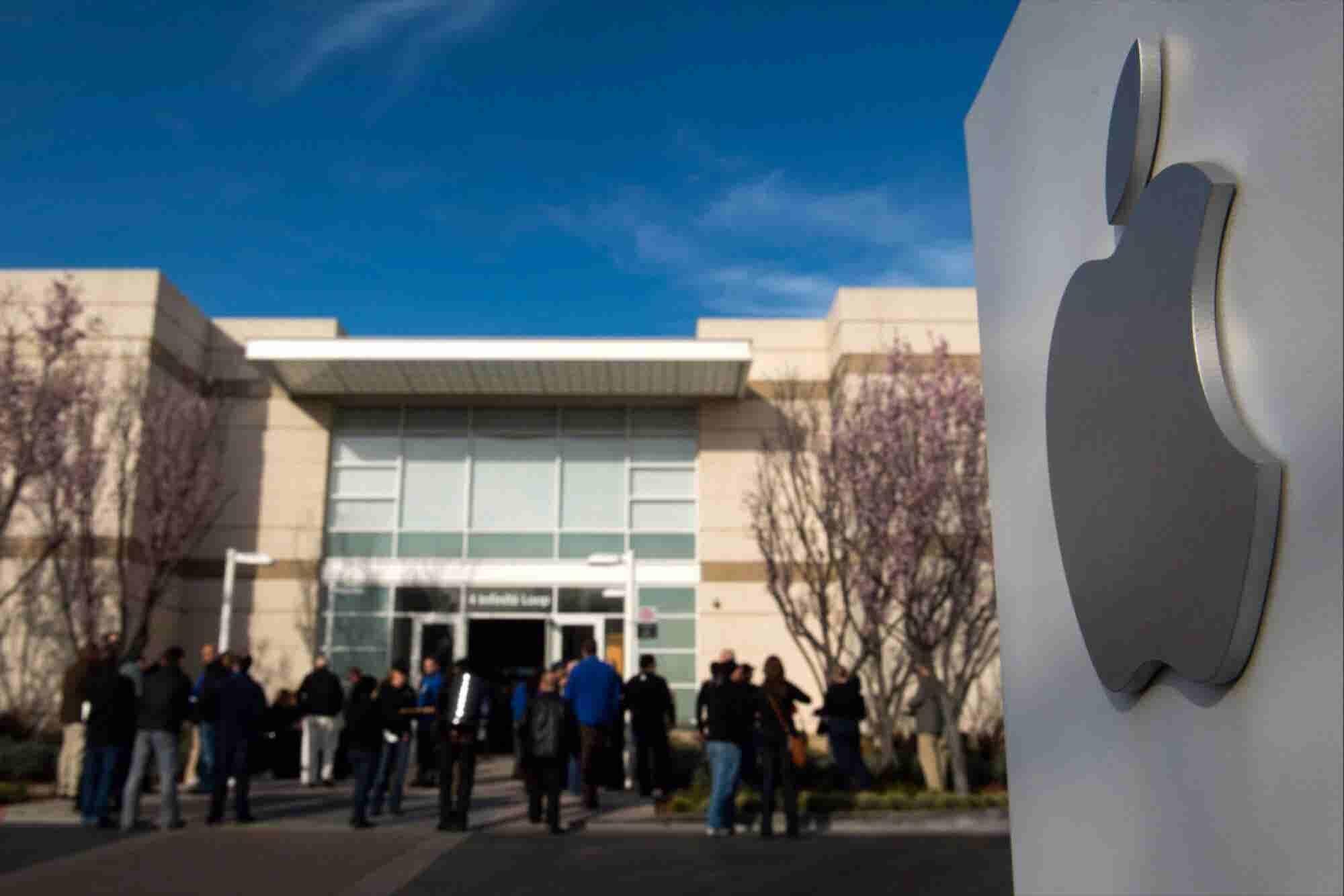 Police Investigating Death at Apple's California Headquarters