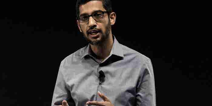 Google's CEO Predicts Shift From a Mobile World to an AI World