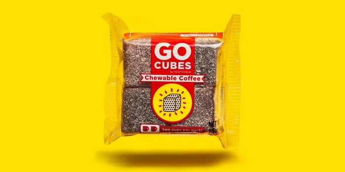 We Got Buzzed Up With These Caffeinated Gummy Cubes. Here's What We Thought.
