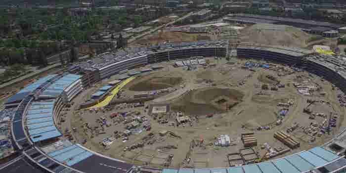 Check Out the Latest Drone Images of Apple's 'Spaceship' Campus -- Start Up Your Day Roundup