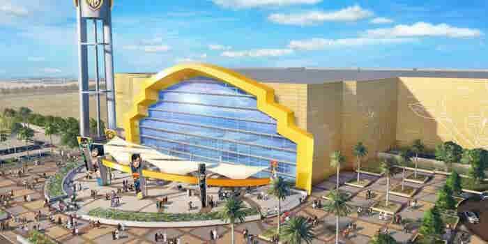 Warner Bros. Theme Park Under Construction In Abu Dhabi