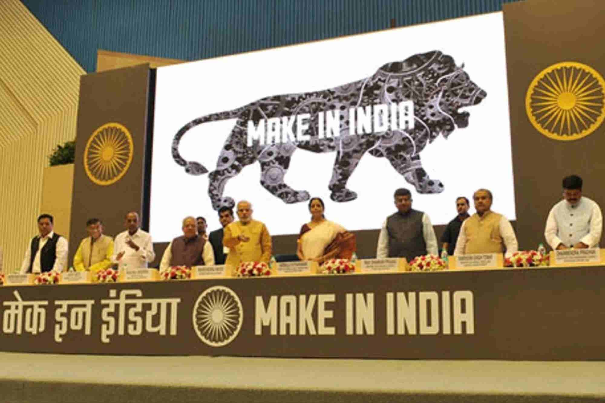 Make In India Promotes Investment In 25 Focus Sectors