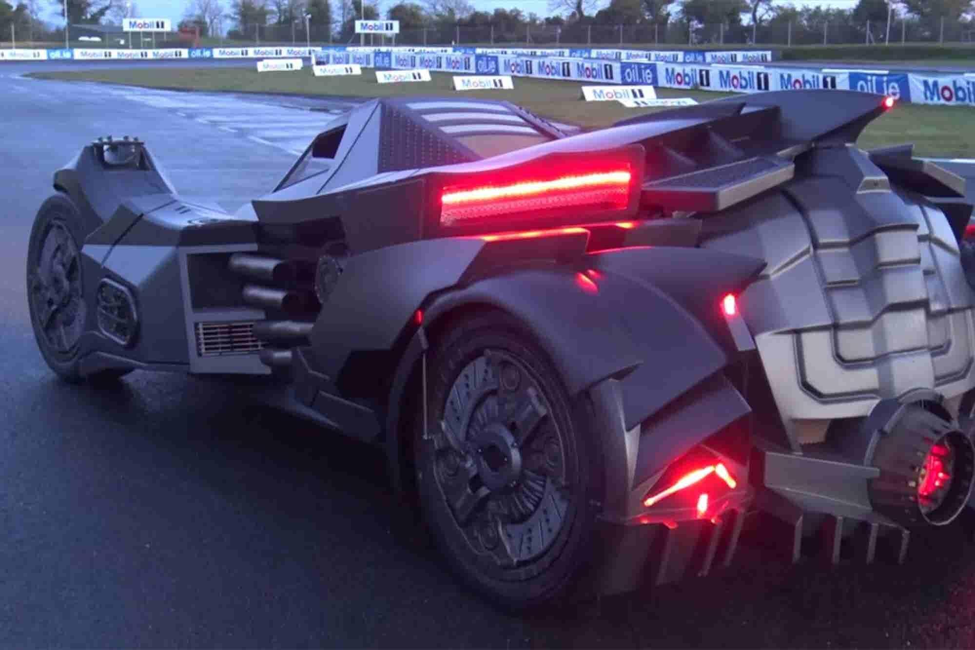 Custom Carmaker Creates Real-Life, Badass Batmobile (Video)