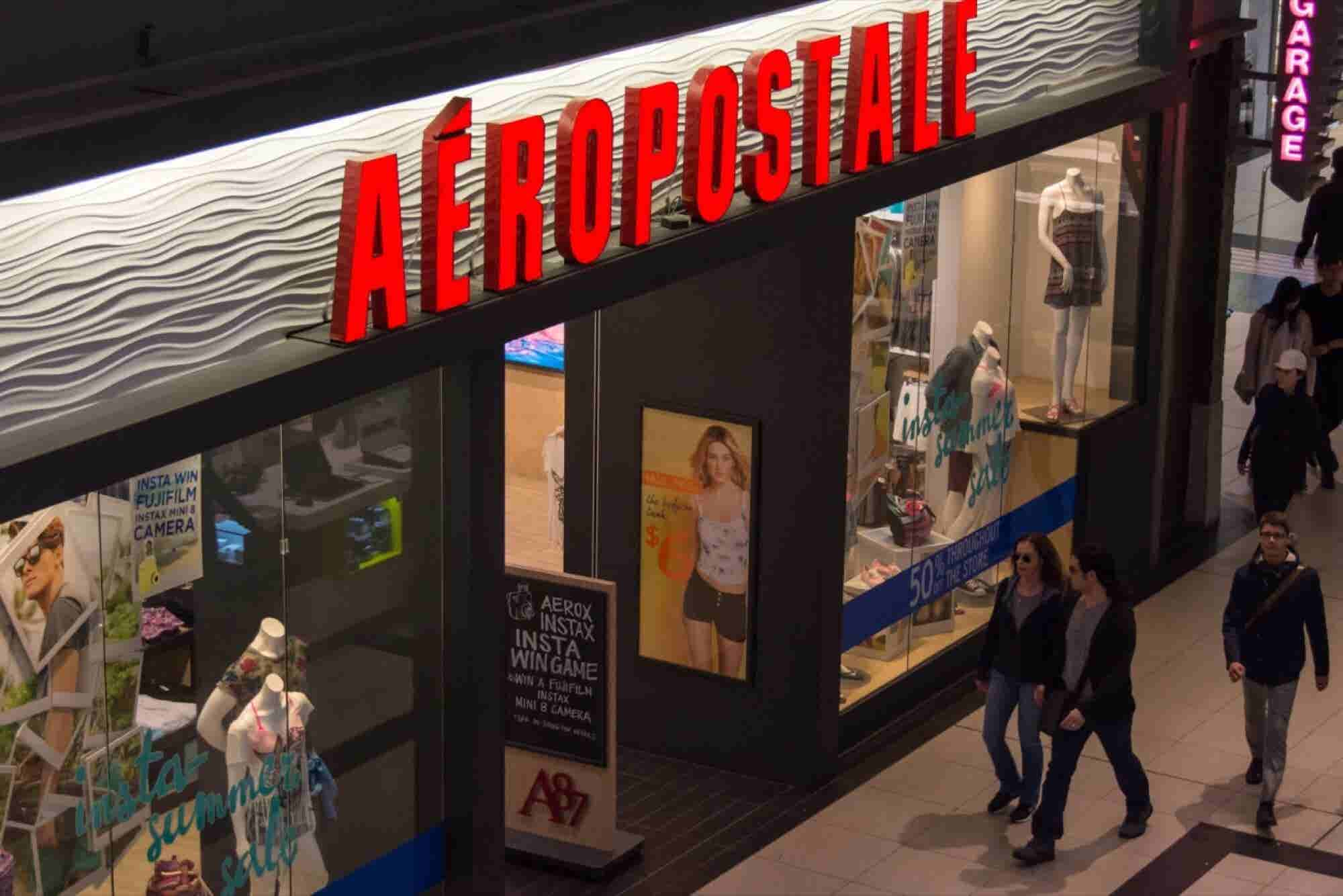 Teen Apparel Chain Aeropostale Files for Bankruptcy Protection