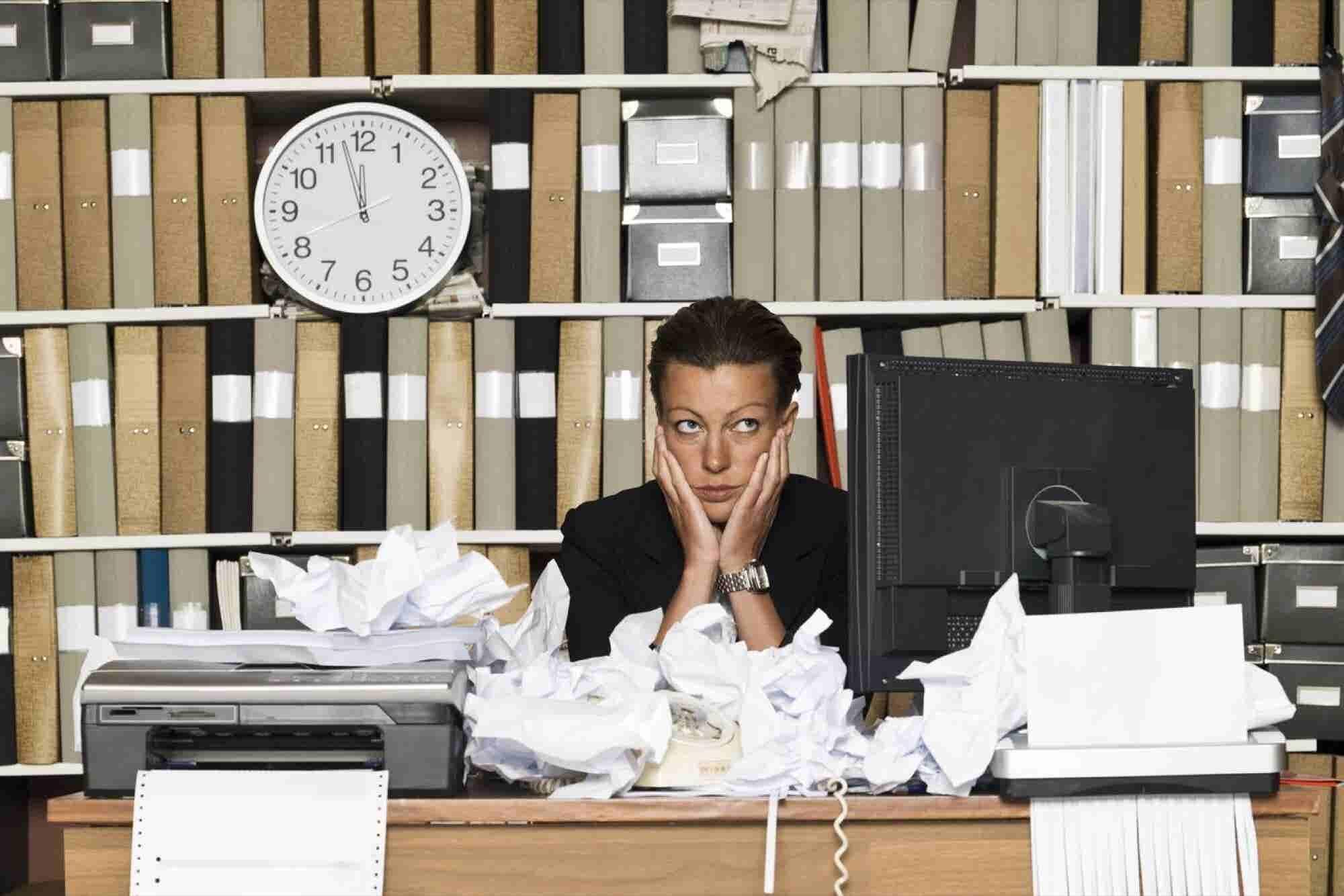 Los errores que estás cometiendo en tu oficina