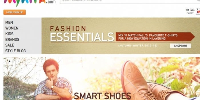 Myntra Wakes Up to Reality, To Relaunch Its Website