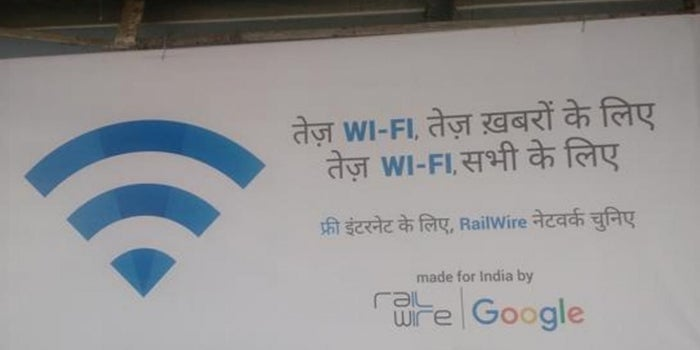 No Need To Use Your Data Pack At Railway Stations Anymore; Use Google's Free Wifi
