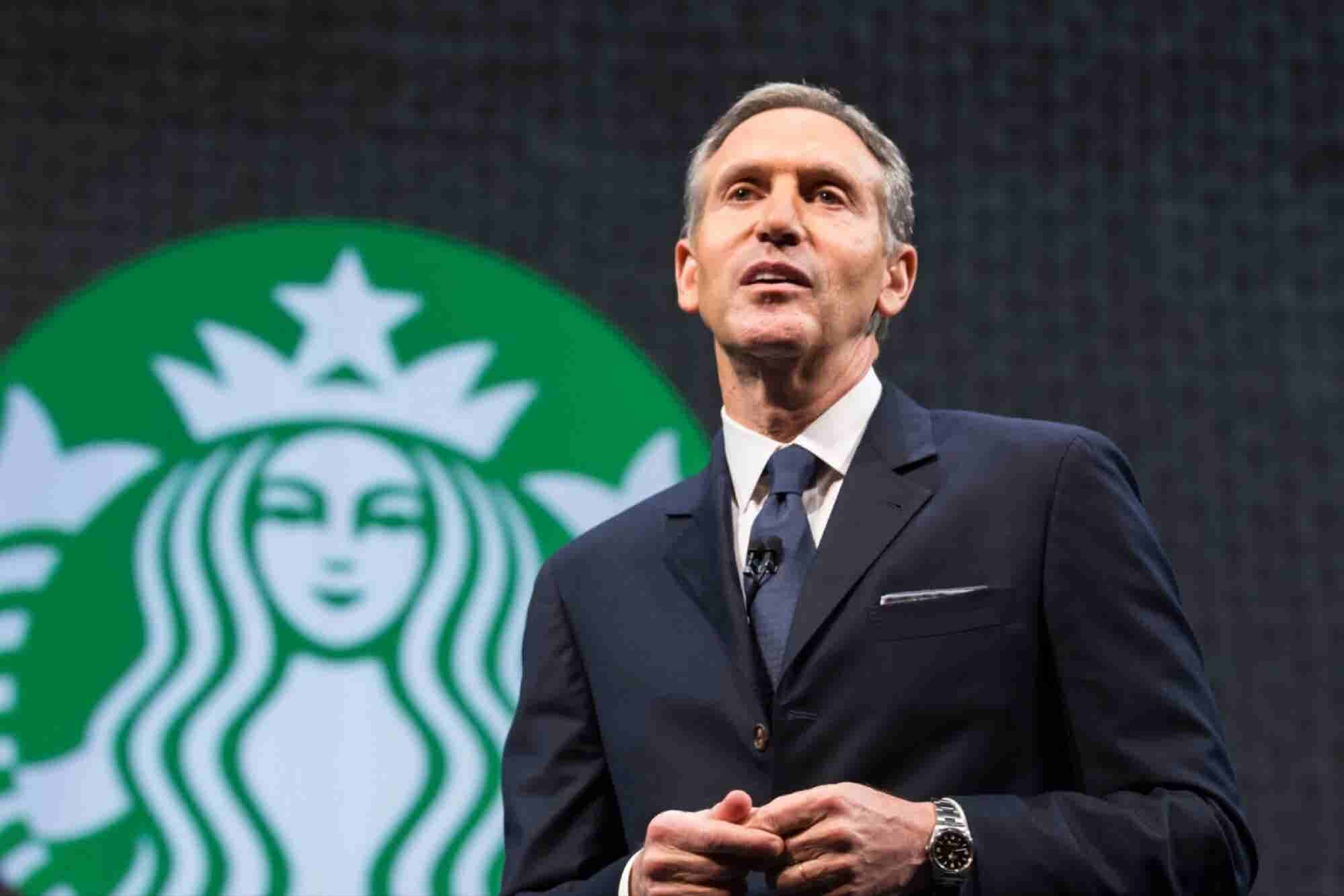 How Starbucks CEO Transformed a Small Coffee Bean Store Into a Massively Successful Worldwide Brand