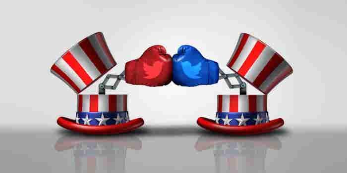 ¿Hillary, Sanders o Trump? Quién es el 'ganador' de Twitter