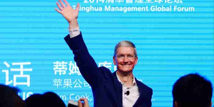 Apple's Cook Visits Beijing After China Woes, Didi Deal