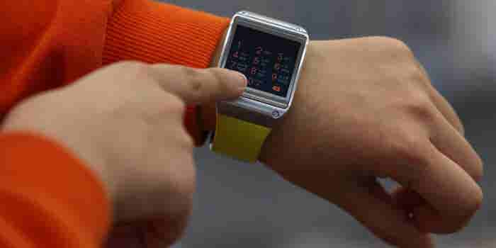 Samsung Wants to Turn Your Hand Into an Interactive Smartwatch Display