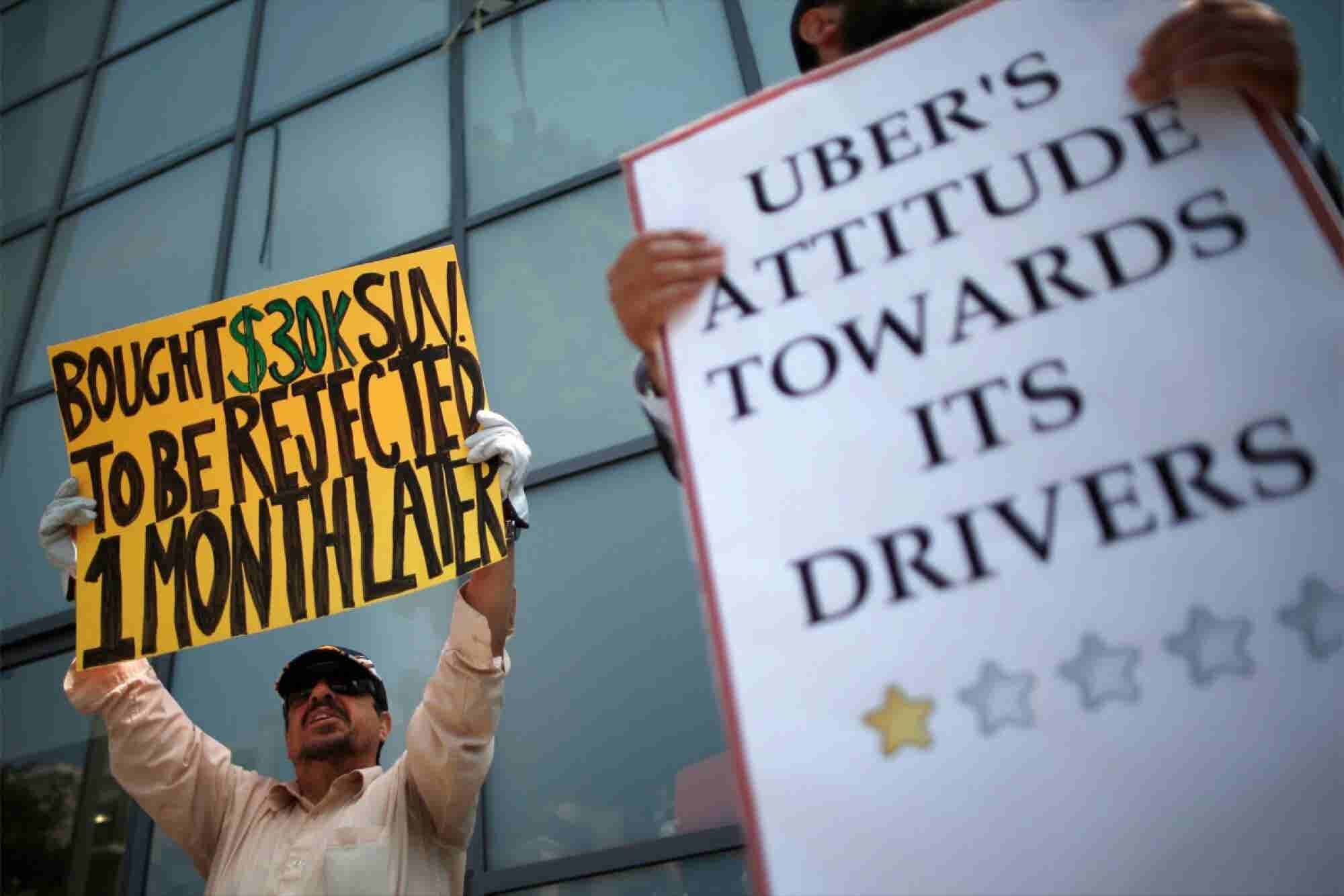 The Driver Who Sued Uber Slams 'Offensive' Settlement