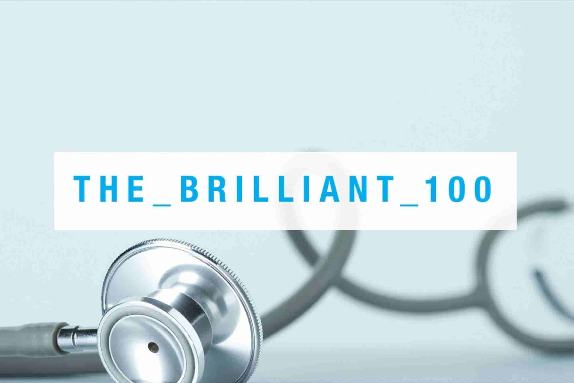 10 Health Companies to Watch - Entrepreneur's Brilliant 100