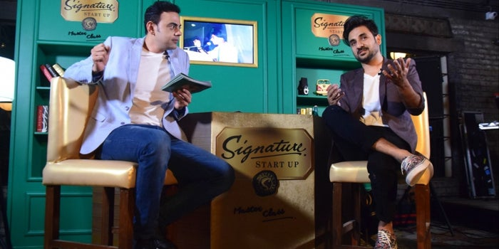 Vir Das inspires Goans at the first Signature Start up Masterclass