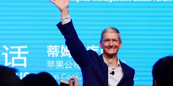 More Challenges Than Cheer for Apple Chief on Asia Tour