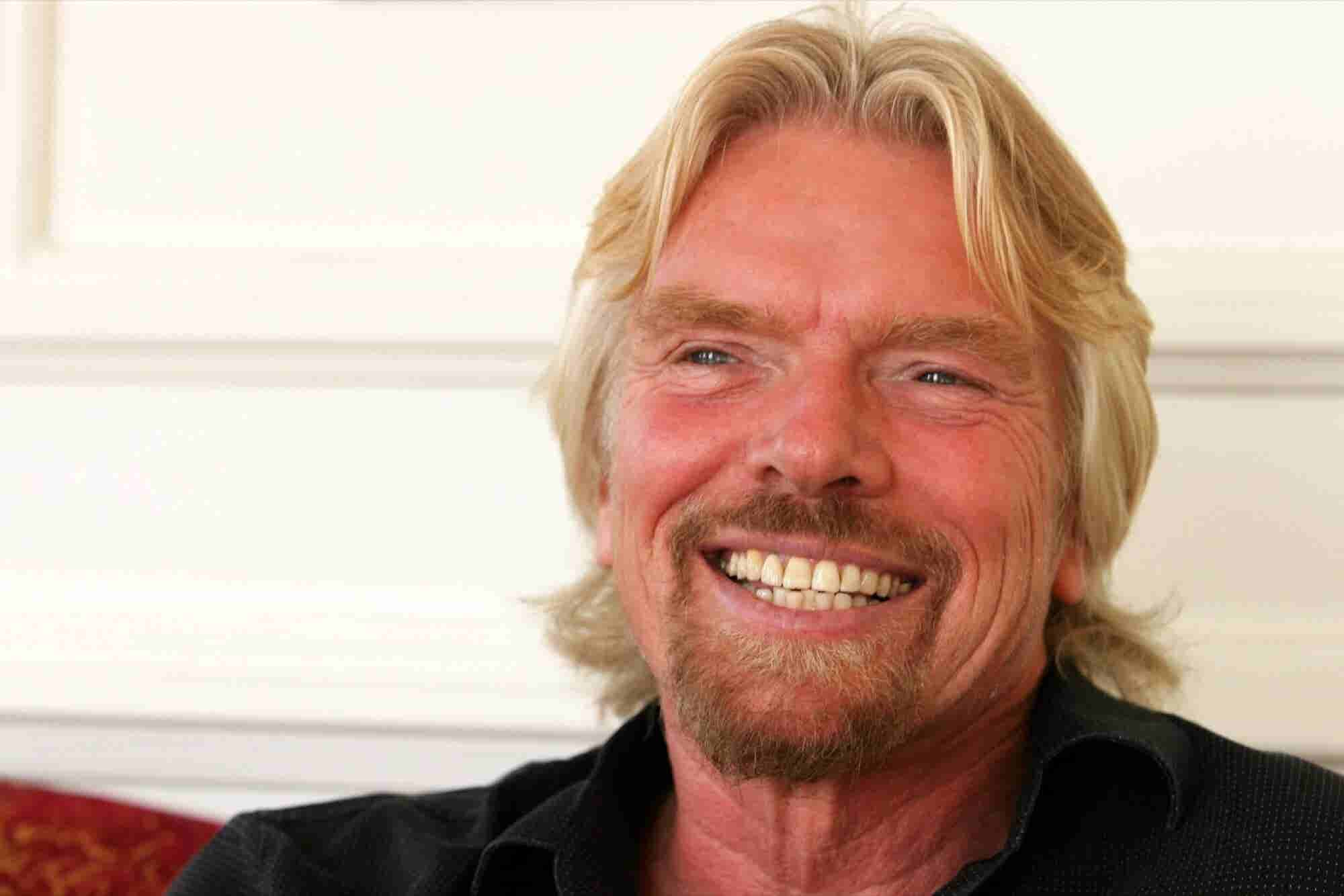 Richard Branson on How to Keep Track of Your New Year's Resolutions